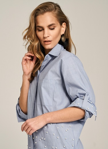 İnci Detaylı Gömlek-People By Fabrika